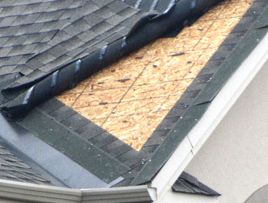 Akron Roof Repair Damage