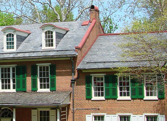 Lancaster Historic Home Roof