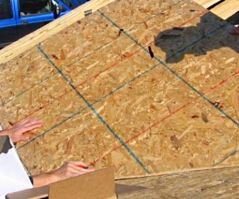 9 parts of a roof for What to use for roof sheathing